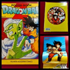 Cómics: POSTER BOOK DRAGON BALL 1 -EXCELENTE ESTADO-COMPLETO. Lote 218391650