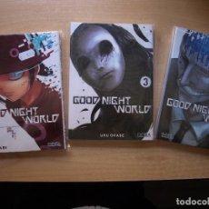 Cómics: GOOD NIGHT WORLD - TTRES TOMOS - 1, 3, Y 4, COMIC MANGA - NUEVOS. Lote 220926916
