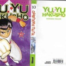 Comics : YUYU HAKUSHO - TOMO Nº 10( ED. ESPAÑOLA ). Lote 221557723