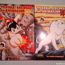 Cómics: TEZUKA ESCUELA DE ANIMACION 1 Y 2. Lote 222165121