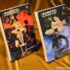 Cómics: KABUTO, EL GUERRERO TENGU,DOS VOLUMENES,BUICHI TERASAWA,OTAKULAND DISTRIBUCIONES,2003.. Lote 222485280