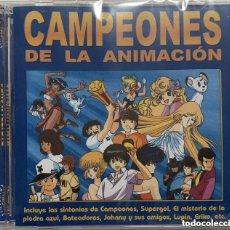 Cómics: CAMPEONES DE LA ANIMACION (TAGS: ANIME MINAMI MUSIC Y TUS AMIGOS DE TELECINCO TELE 5) CD PRECINTADO. Lote 222519380