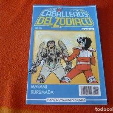 Cómics: LOS CABALLEROS DEL ZODIACO Nº 6 ( KURUMADA ) SAINT SEIYA MANGA PLANETA AZUL. Lote 222673283