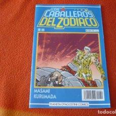 Cómics: LOS CABALLEROS DEL ZODIACO Nº 50 ( KURUMADA ) SAINT SEIYA MANGA PLANETA AZUL. Lote 222673480