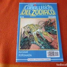 Cómics: LOS CABALLEROS DEL ZODIACO Nº 59 ( KURUMADA ) SAINT SEIYA MANGA PLANETA AZUL. Lote 222673928