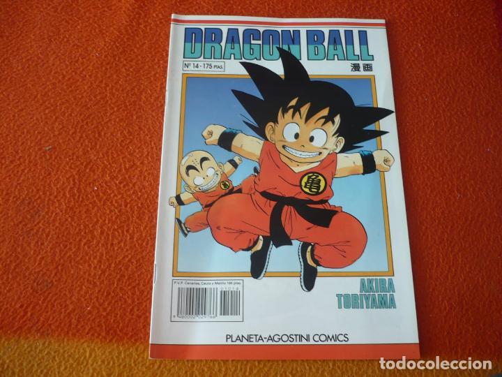 DRAGON BALL Nº 14 SERIE BLANCA ( TORIYAMA ) MANGA PLANETA DRAGONBALL (Tebeos y Comics - Manga)