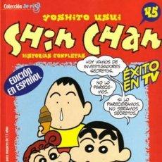 Cómics: SHIN CHAN Nº 45 - PLANETA - MUY BUEN ESTADO. Lote 222854557