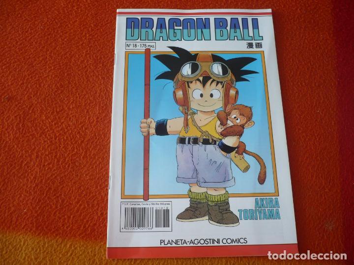 DRAGON BALL Nº 18 SERIE BLANCA ( TORIYAMA ) MANGA PLANETA DRAGONBALL (Tebeos y Comics - Manga)