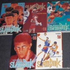 Cómics: SLAM DUNK SLAMDUNK LOTE PACK DEL Nº 12 AL Nº 16 DE TAKEHIKO INOUE EDITORIAL IVREA. Lote 222914063