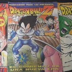 Comics : LOTE DE 3 COMICS DRAGON BALL Z EDITADO EN ARGENTINA AÑOS 1999 / 2000 MANGAZINE PLUS RARO Y DIFICIL. Lote 222981498