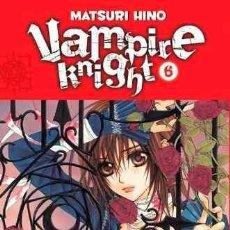 Cómics: VAMPIRE KNIGHT LOTE CON LOS NUMEROS 6, 7 Y 10 (MATSURI HINO) - IMPECABLE - OFM15. Lote 225844905