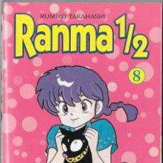 Cómics: RANMA 1/2 NUM 8. RUMIKO TAKASHASHI. Lote 228360433