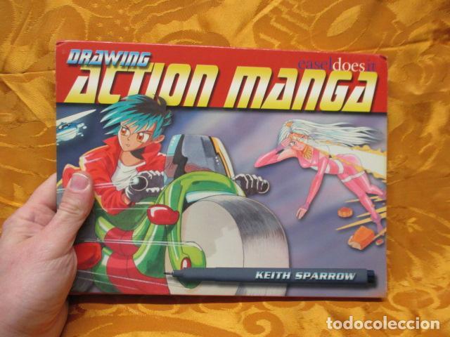 Cómics: DRAWING ACTION MANGA- KEITH SPARROW - EN INGLES - Foto 17 - 229289930