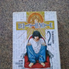 Cómics: DEATH NOTE -- Nº 2 -- GLENAT --. Lote 255319220
