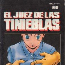 "Cómics: CÓMIC MANGA "" EL JUEZ DE LAS TINIEBLAS "" Nº 1 - ED. PLANETA ( CUADERNILLO PRESTIGIO LOMO.). Lote 231228140"