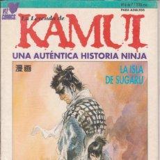"Cómics: CÓMIC MANGA "" KAMUI "" Nº 6 - ED. PLANETA ( CUADERNILLO PRESTIGIO LOMO.). Lote 231228280"