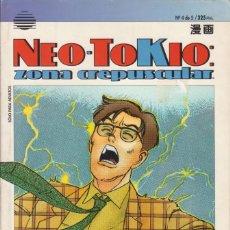 "Cómics: CÓMIC MANGA "" NEO - TOKIO : ZONA CREPUSCULAR "" Nº 4 - ED. PLANETA ( CUADERNILLO PRESTIGIO LOMO.). Lote 231230085"