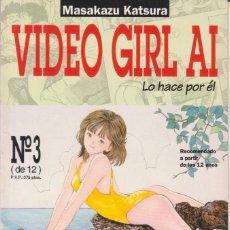 """Cómics: CÓMIC MANGA """" VIDEO GIRL AI """" Nº 3 ED, NORMA ( CUADERNILLO FORMATO PRESTIGIO CON LOMO 64 PGS). Lote 231255245"""