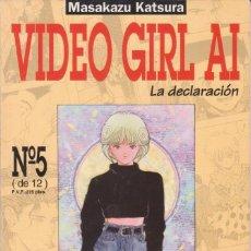 """Cómics: CÓMIC MANGA """" VIDEO GIRL AI """" Nº 5 ED, NORMA ( CUADERNILLO FORMATO PRESTIGIO CON LOMO 64 PGS). Lote 231255345"""