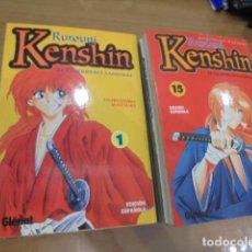 Fumetti: RUROUNI KENSHIN COMPLETA 28 NUM. GLENAT OCASION. Lote 232129200