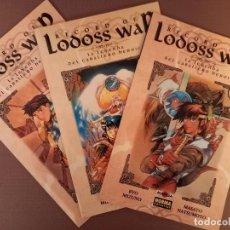 Cómics: RECORD OF LODOS WAR Nº 1 AL 3. Lote 232303980