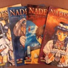 Cómics: NADESICO Nº 1 AL 4 (COMPLETA). Lote 232304395
