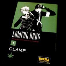 Cómics: DE KIOSCO LAWFUL DRUG 1 CLAMP NORMA EDITORIAL. Lote 232434295