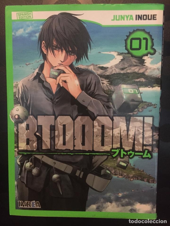 BTOOOM! DE JUNYA INOUE N.1 01 ED IVREA ( 2014/2019 ) (Tebeos y Comics - Manga)