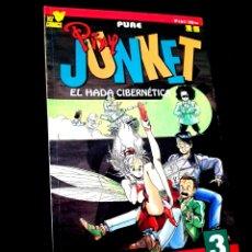 Cómics: MUY BUEN ESTADO PIXY JUNKET 3 COMICS MANGA PLANETA VIZ. Lote 236106465