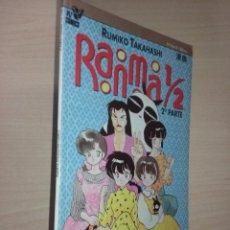 Cómics: RANMA 1 / 2 - 2º PARTE - Nº 10 DE 10 - RUMIKO TAKAHASHI (PLANETA AGOSTINI). Lote 236791390