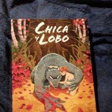Cómics: CHICA Y LOBO, DE ROC SPINET. MAGNÍFICO ESTADO. MANGA. ESCASO. Lote 236825900