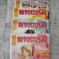Cómics: CHATARO BOLLICASOS CHATARO REVOLTOSAS 2 DE 4 3 DE 4 4 DE 4. Lote 237872760
