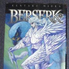 Cómics: BERSERK NUMERO 21 EDT SEINEN MANGA KENTARO MIURA. Lote 239685200