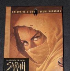 Cómics: LA LEYENDA DE LA MADRE SARAH COFRE ESTUCHE NORMA EDITORIAL DEL 1 AL 10 KATSUHIRO OTOMO TAKUMI. Lote 239755000