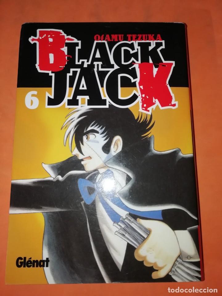 BLACK JACK. Nº 6. OSAMU TEZUKA. EDICIONES GLENAT. 2007. (Tebeos y Comics - Manga)