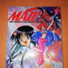 Cómics: MAZE. RELATOS DE UN MUNDO DE FANTASIA Nº 1. MANGALINE EDICIONES 2002. Lote 240685530