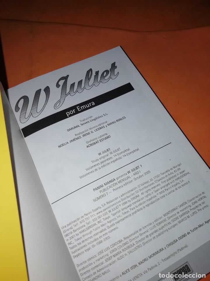 Cómics: W JULIET. Nº 7. PANINI . MANGA. 2005 - Foto 6 - 265203664