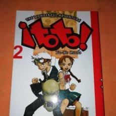 Cómics: TOTO. Nº 2. YU-KO OSADA. MANGA .PLLANETA. 2007. Lote 240695660