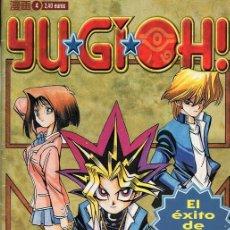 Cómics: YU-GI-OH! Nº 4. Lote 243069075