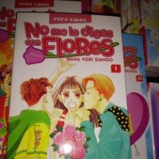 Cómics: NO ME LO DIGAS CON FLORES. COLECCIÓN COMPLETA. 36 NÚMEROS.. Lote 243406645