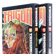 Comics: TRIGUN 1 Y 2. OBRA COMPLETA 696 PÁGS (YASUHIRO NIGHTOW) LARP, 2013. OFRT. Lote 282062593