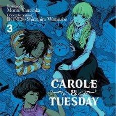 Cómics: CAROLE & TUESDAY 3 - IVREA / MANGA / NUEVO DE EDITORIAL. Lote 245961700