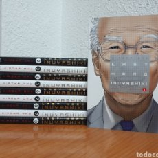 Cómics: LOTE 10 TOMOS MANGA LAST HERO INUYASHIKI (COMPLETA) DE H. OKU 5% DESCUENTO. Lote 245970885