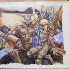 Cómics: LITOGRAFÍA APPLESEED MASAMUNE SHIROW 87,5X68CM POSTER CARTEL. Lote 248091455