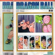 Cómics: LOTE DRAGON BALL Nº 91 Y 93 SERIE BLANCA - PLANETA - OFM15. Lote 251847650