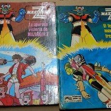 Cómics: LOTE 2 COMIC MAZINGER Z, Nº 4-5 GRIJALBO -ORIGINALES AÑOS 70-80. Lote 252063110