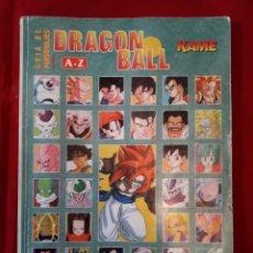 Cómics: GUIA DE PERSONAJES DRAGON BALL - A-Z - KAME - GOKU. Lote 257346090