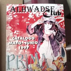 Cómics: ALHWADSE CLUB - CATALOGO MAYO-JUNIO 1997 -PRIMAVERA. Lote 257510105