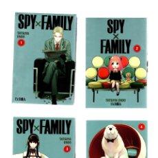 Cómics: SPY X FAMILY 1 2 3 4 5 6 - IVREA / MANGA. Lote 261680520