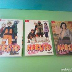 Cómics: LOTE 3 COMICS MANGA NARUTO. Lote 262571045